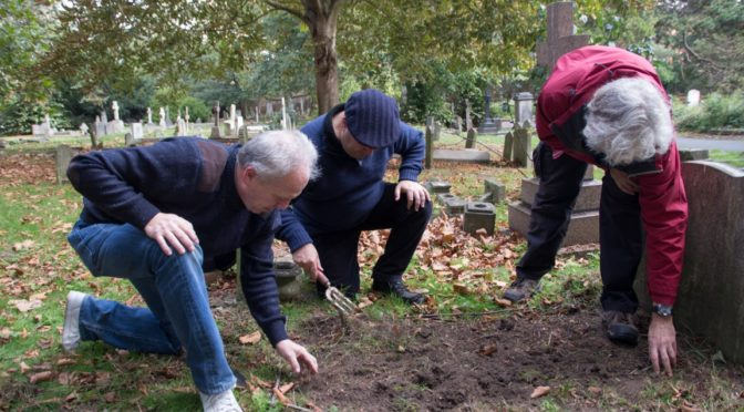 Brompton Cemetery Clean Up