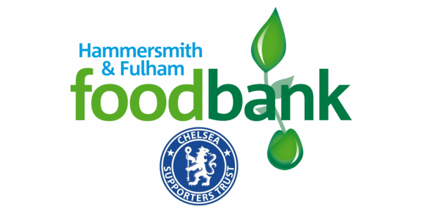 Newcastle Foodbank Collection Chelsea Supporters Trust