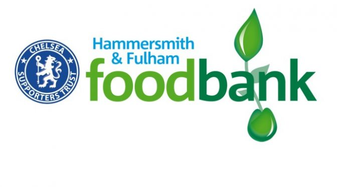 Foodbank collection at Sheffield United  game