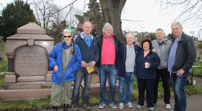 Brompton Cemetery Clear Up Project – 26 March 2016