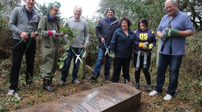 Next Brompton Cemetery Clear Up Project Visit