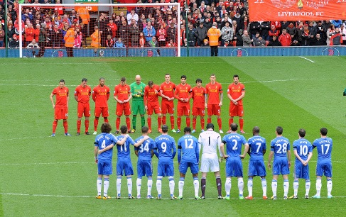 Liverpool and Chelsea remembering Hillsborough